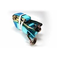 Spanband Blauw enkele haak