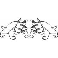 Bulldog left + right