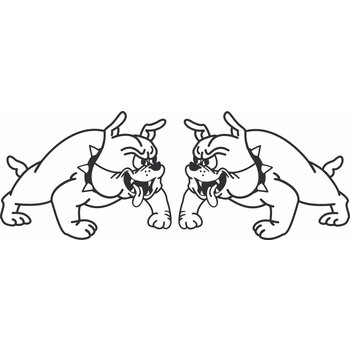 Bulldog links + rechts