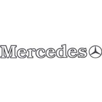 Mercedes buitenplak 2 st
