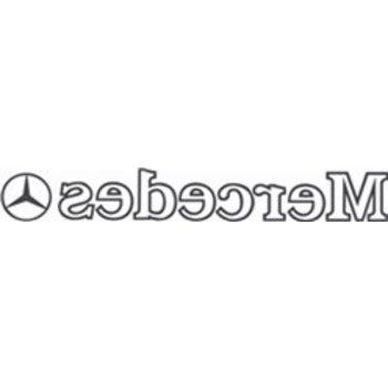 Mercedes binnenplak 2 st