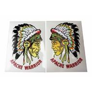 Sticker Apache warrior