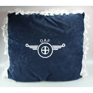 Pillow with logo