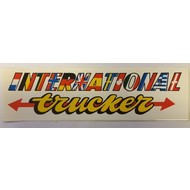 Sticker International Trucker