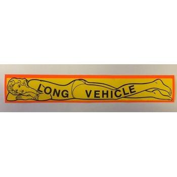 Aufkleber Long Vehicle