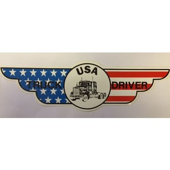 Wing sticker USA