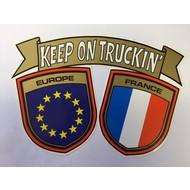 Sticker Europa - France