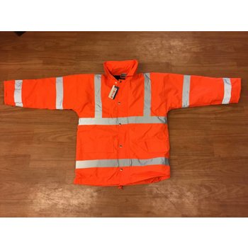 Safety jack orange M/XL