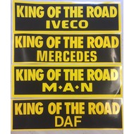 Aufkleber King of the Road