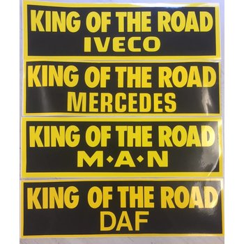 Sticker King of the Road