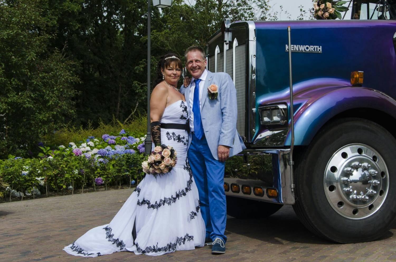 De sterke vrouw achter de trucker