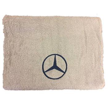 Handdoek Mercedes beige, grijs
