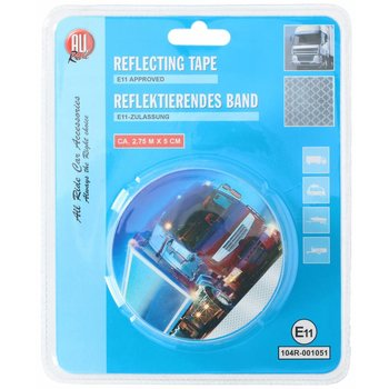 All Ride Reflecterende tape zilver
