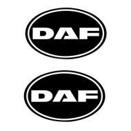 DAF sticker retro 2st buitenplak