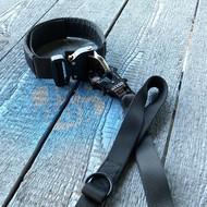 Tecdox Halsband 40mm mit Freizeitleine Fun mit Eingriff