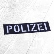 Patch POLIZEI 45x160