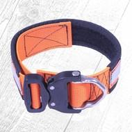 Tecdox Freizeithalsband 40mm Reflektion/Orange