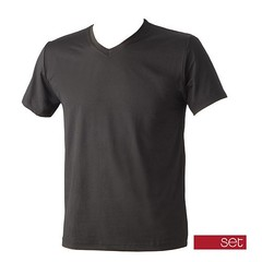 SET Set T-Shirt 56078 zwart