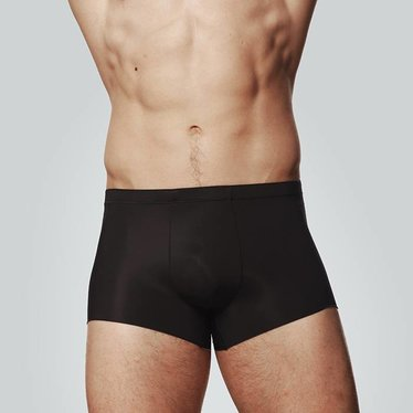 HOM PLUME INVISIBLE COMFORT BOXER Zwart