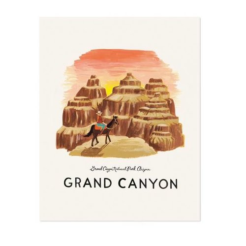 Rifle Paper Co. Art Print Grand Canyon