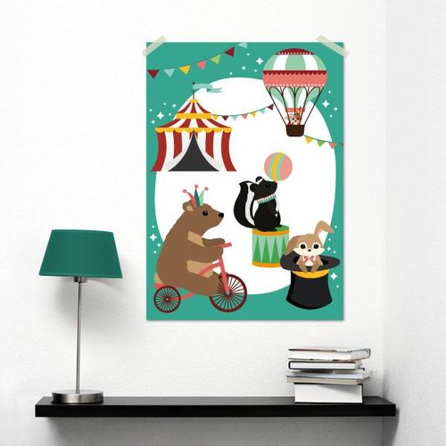 Oktoberdots A3 Poster Circus
