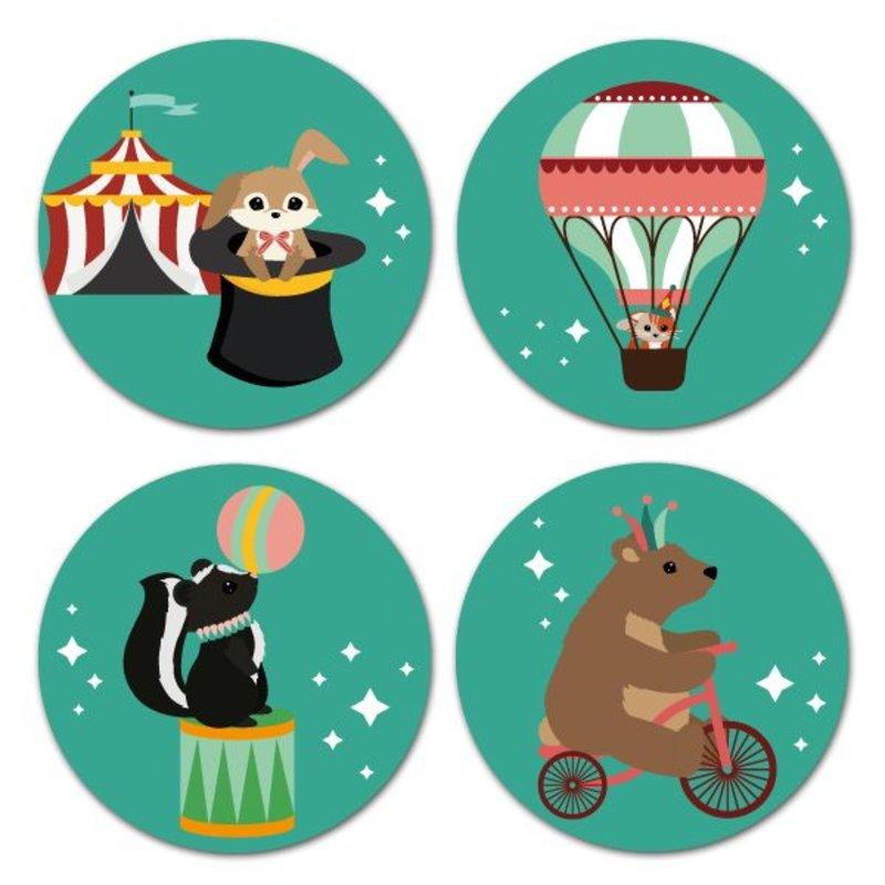 Oktoberdots Stickers Woodland Circus