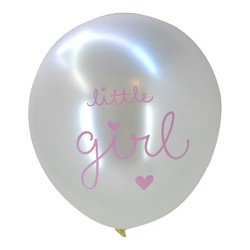 A Little Lovely Company Set Ballonnen - Little Girl