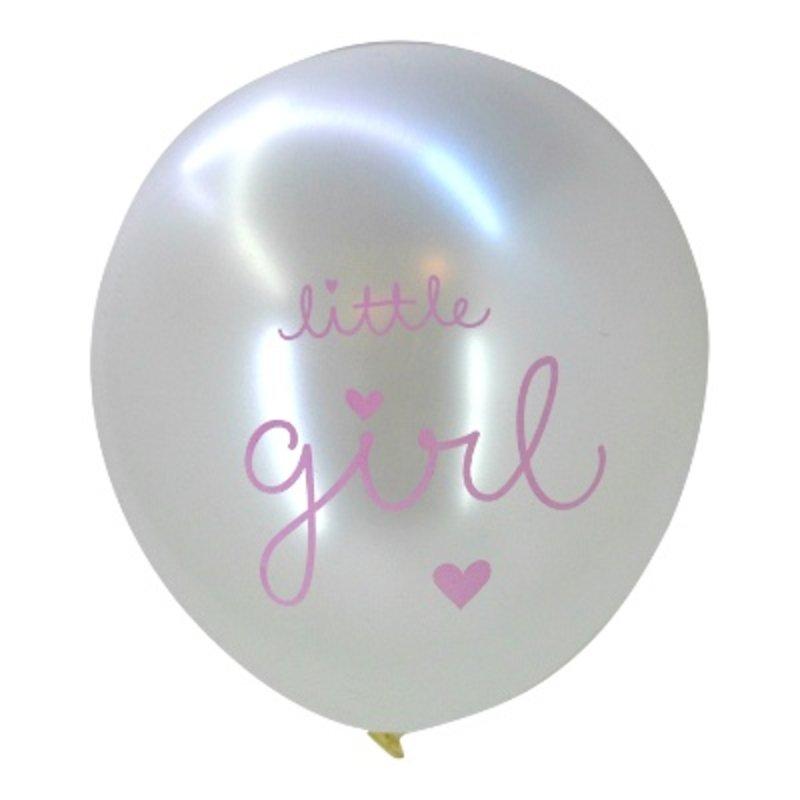 A Little Lovely Company Set Ballonnen Little Girl