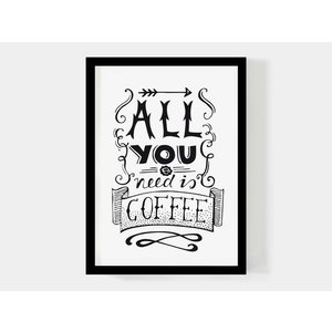 Paperfuel A4 Poster Coffee