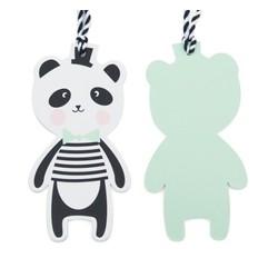 Papieren Hanger Panda
