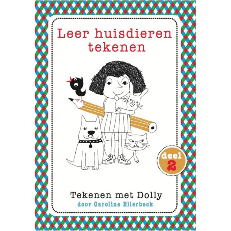 Caroline Ellerbeck Leer huisdieren tekenen - Dolly 2