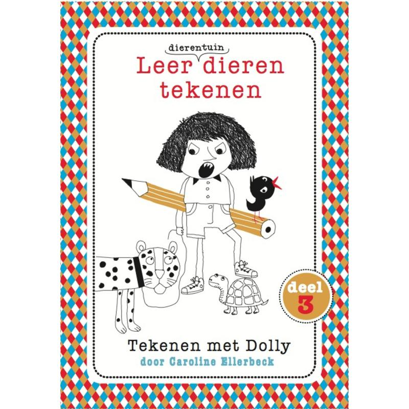 Caroline Ellerbeck Leer dierentuindieren tekenen - Dolly 3