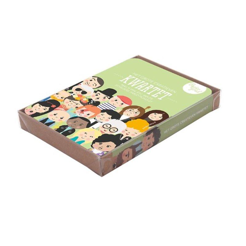 Papiergoed Kwartetspel Het Grote Creatieven Kwartet