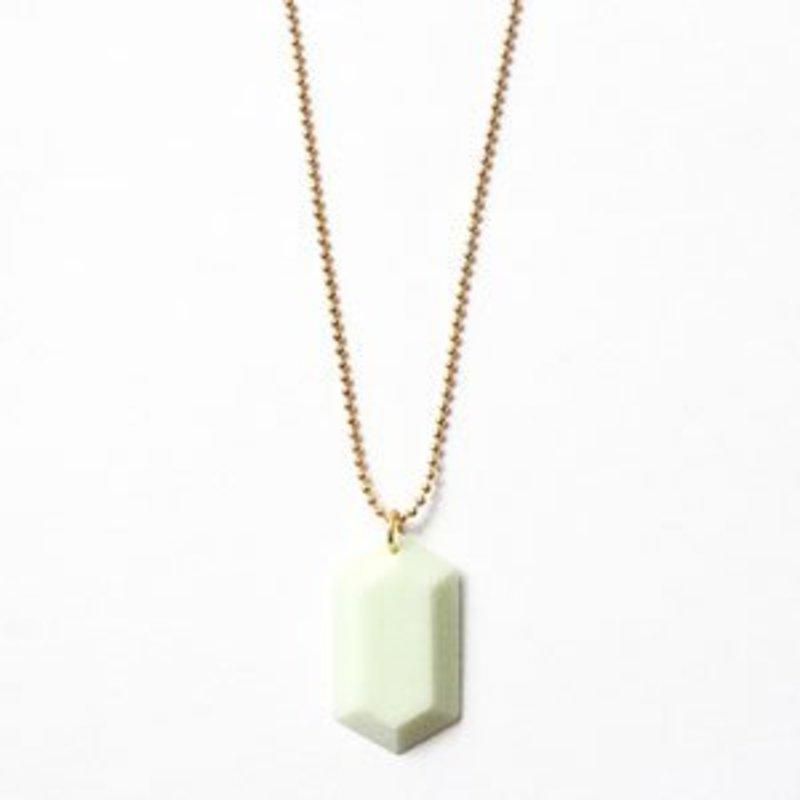 All Things We Like Ketting 3D Kristal Mint