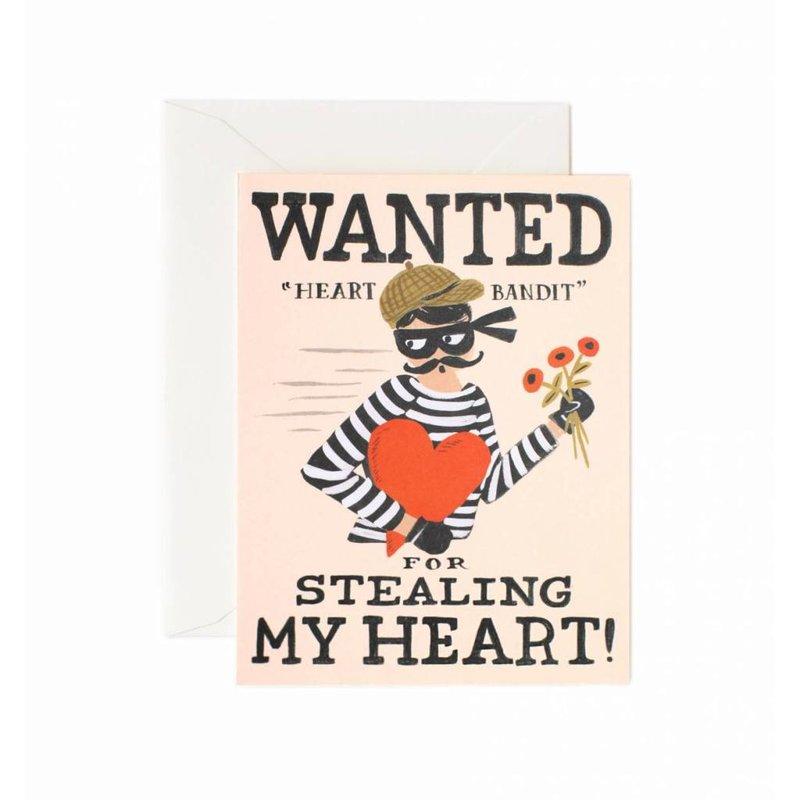 Rifle Paper Co. Wenskaart Heart Bandit
