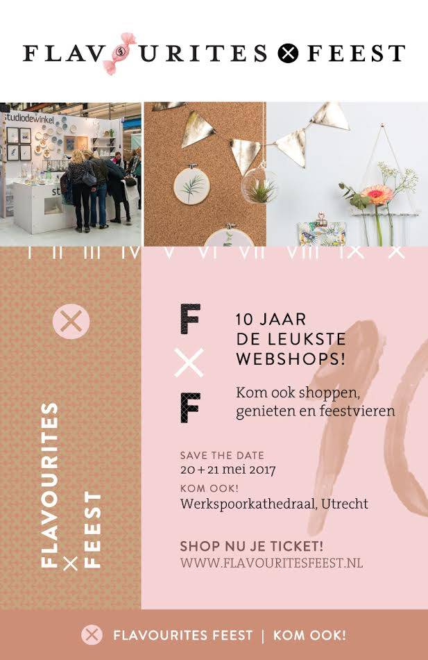 Flavourites Feest - Save the date!