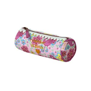 Rice Ronde etui Flamingo