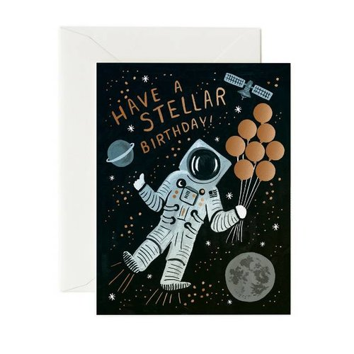 Rifle Paper Co. Verjaardagskaart Stellar Birthday