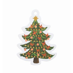 Rifle Paper Co. Cadeaulabels Christmas Tree