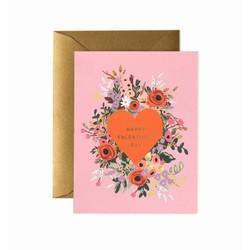 Rifle Paper Co. Valentijnskaart Blooming Heart