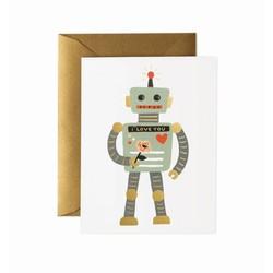 Rifle Paper Co. Wenskaart Robot Love