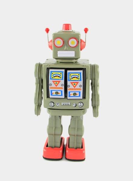 Vintoys Klaas de Killer Electron Robot Groen