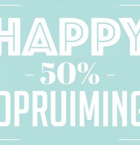 Blog #5 - Happy 50% Sale