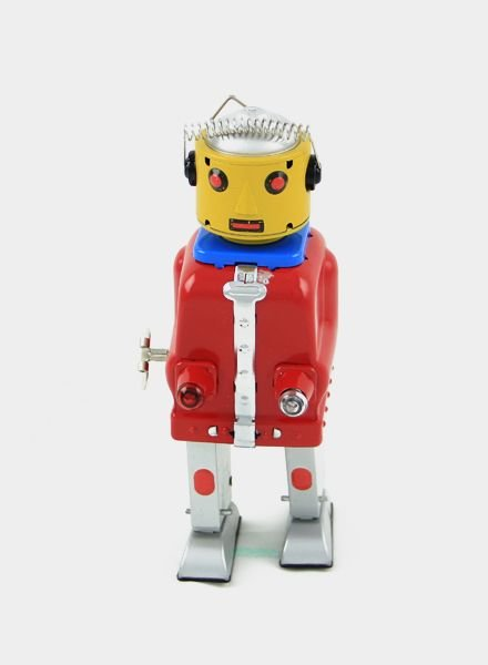 Ha Ha Toy Mr. Robot Mechanical Brain