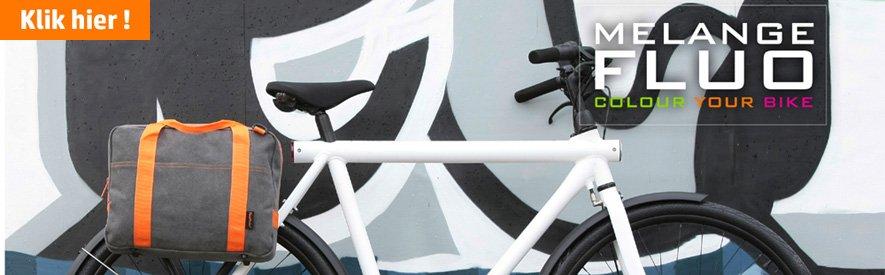 Hippe fietstas? Bekijk deze fluo serie
