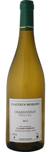 Claudius Morand Claudius Morand, Chardonnay, Vin de Pays d'Oc