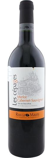 Rocca Maura Rocca Maura, Les Cépages Cabernet - Merlot, Vin de Pays d'Oc