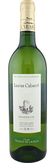 Lauran Cabaret Lauran Cabaret, Cuvée Arnaud, Blanc 2012, A.C. Minervois