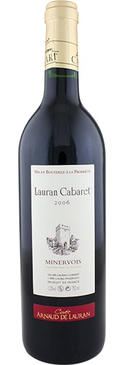Lauran Cabaret Lauran Cabaret, Cuvée Arnaud, Rouge, A.C. Minervois