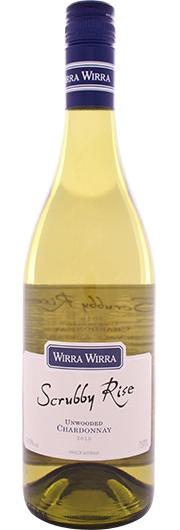 Wirra Wirra Wirra Wirra,  Scrubby Rise,  Unwooded Chardonnay, Mc Laren Vale